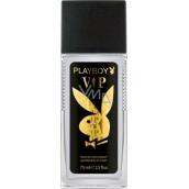 Playboy Vip for Him parfumovaný dezodorant sklo pre mužov 75 ml Tester