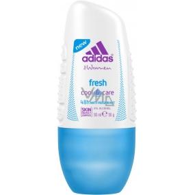 Adidas Fresh Cool & Care 48h kuličkový antiperspirant deodorant roll-on pro ženy 50 ml