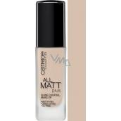 Catrice All Matt Plus Shine Control make-up 010 Light Beige 30 ml