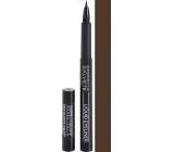 Gabriella salva Liquid Eyeliner In Pen tekuté očné linky vo fixu 02 Brown 1,2 ml