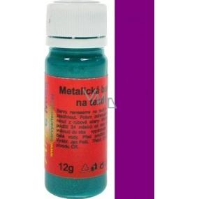 Art e Miss Barva na světlý i tmavý textil 42 metalická tmavá fialová 12 g