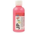 JP arts barva na textil na světlé materiály svítící ve tmě neon červená 50 g