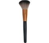 Kozmetický štetec na púder rovný čierno-medený 18,5 cm 30450