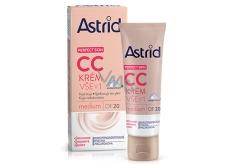 Astrid krém CC všetko v 1 OF20 Medium 40ml 0143