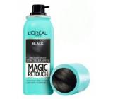 Loreal Paris Magic Retouch vlasový korektor šedin a odrostů 01 Black 75 ml