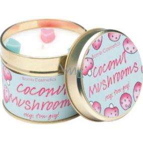 Bomb Cosmetics Muchotrávky - Flying High Vonná prírodné, ručne vyrobená sviečka v plechovej dóze horí až 35 hodín