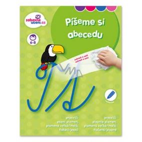 Ditipo Stierateľný zošit Píšeme si abecedu 6-8 rokov 16 strán 215 x 275 mm
