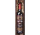 Bohemia Gifts & Cosmetics Merlot Pro tatínka červené dárkové víno 750 ml