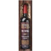 Bohemia Gifts & Cosmetics Merlot Pre otecka červenej darčekovej víno 750 ml
