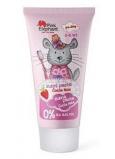 Pink Elephant Činčila Nela s príchuťou jahôd zubná pasta pre deti 50 ml