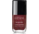 Gabriella salva Longlasting Enamel lak na nechty 20 Sangria 11 ml