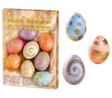 Sada k dekorovanie vajíčok Zlaté zdobenie