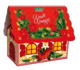 Liran Vianočné balenie bieleho čaju Domček červený 20 x 2 g