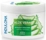 Indulona Aloe Vera upokojujúci telový krém pre normálny typ pokožky 250 ml