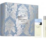 Dolce & Gabbana Light Blue toaletná voda pre ženy 25 ml + toaletná voda 10 ml, darčeková sada