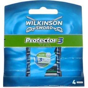 Wilkinson Protector 3 náhradné hlavice 4 kusy