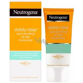 Neutrogena Visibly Clear Spot proofing nemastný hydratačný krém 50 ml