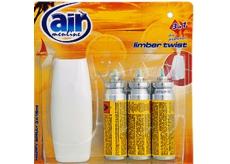 Air menłinu Limber Twist Happy Osviežovač vzduchu komplet sprej + náplne 3 x 15 ml