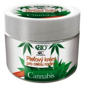 Bione Cosmetics Bio Cannabis pleťový krém pro celou rodinu 260 ml