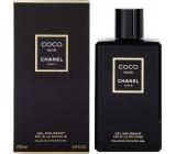 Chanel Coco Noir sprchový gel pro ženy 200 ml