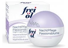 Frei Ol hydrolipidy Night Care Passionflower nočný krém s mučenkou pre suchú pleť 50 ml