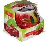 Admit Cherry - Třešeň dekorativní aromatická svíčka ve skle 80 g
