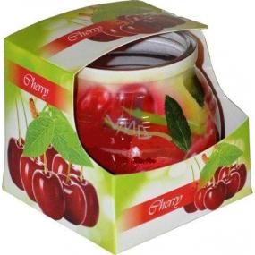 Admit Cherry - Čerešňa dekoratívne aromatická sviečka v skle 80 g