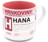 Nekupto Hrnkoviny Hrnek se jménem Hana 0,4 litru