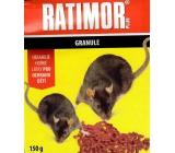 Ratimor Plus granule na hubenie hlodavcov 150 g