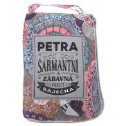 Albi Skladacia taška na zips do kabelky s menom Petra 42 x 41 x 11 cm