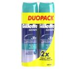 Gillette Series Protection gél na holenie pre mužov 2 x 200 ml, duopack