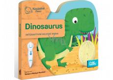 Albi Kúzelné čítania interaktívnej minikniha s výsekom Dinosaurus, vek 2+