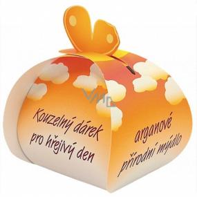 Čarovný darček arganový prírodné mydlo z rastlinných olejov pre hrejivý deň 50 g