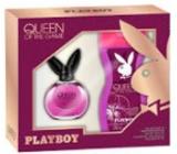 Playboy Queen of The Game toaletná voda pre ženy 40 ml + sprchový gél 250 ml, darčeková sada