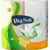 Big Soft Classic papierové kuchynské utierky 2 vrstvové 51 útržkov 2 kusy