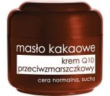 Ziaja Kakaové maslo Q10 protivráskový krém normálna a suchá pleť 50 ml