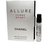 Chanel Allure Homme Sport toaletní voda 2 ml s rozprašovačem, Vialka