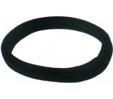 Vlasová gumička čierna 7 x 1 cm