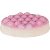 Bomb Cosmetics Zamatová jahoda - Velvet Strawberry Masážny tuhé maslo 75 g