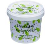 Bomb Cosmetics Limetka - Limelight Přírodní tělový peeling 375 g