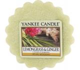 Yankee Candle Lemongrass & Ginger - Citrónová tráva a zázvor vonný vosk do aromalampy 22 g