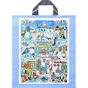 Igelitová taška Ladova obrázky 46 x 40 cm