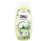 Bohemia Gifts Kids Dino sprchový gél pre deti zelený 250 ml