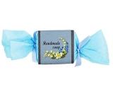 Bohemia Natur Blue Flower s glycerinem ručně vyráběné toaletní mýdlo bonbon 30 g