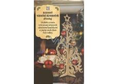 Albi Rodinný vánoční stromeček dřevěný