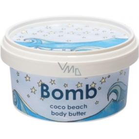 Bomb Cosmetics Kokosová pláž - Coco Beach Prírodné telové maslo ručne vyrobené 200 ml