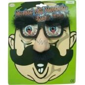 Hm Studio Okuliare s nosom a obočím - žartovný predmet