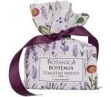 Bohemia Gifts & Cosmetics Botanica Levandule ručně vyráběné toaletní mýdlo 100 g