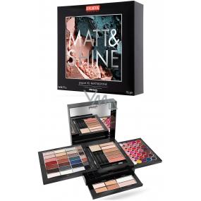 Pupa Pupart XL Matt & Shine Make-up kazeta pre líčenie očí, pier a tváre 012 Wild Earth 78,5 g