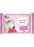 Pink Elephant Myška Mia krémové mydlo pre deti 90 g